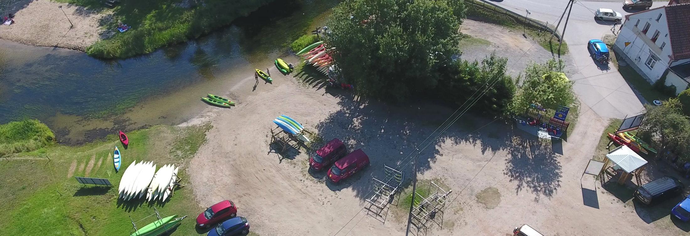Firma Kajaki Centrum, spływy kajakowe rzeką Krutynia