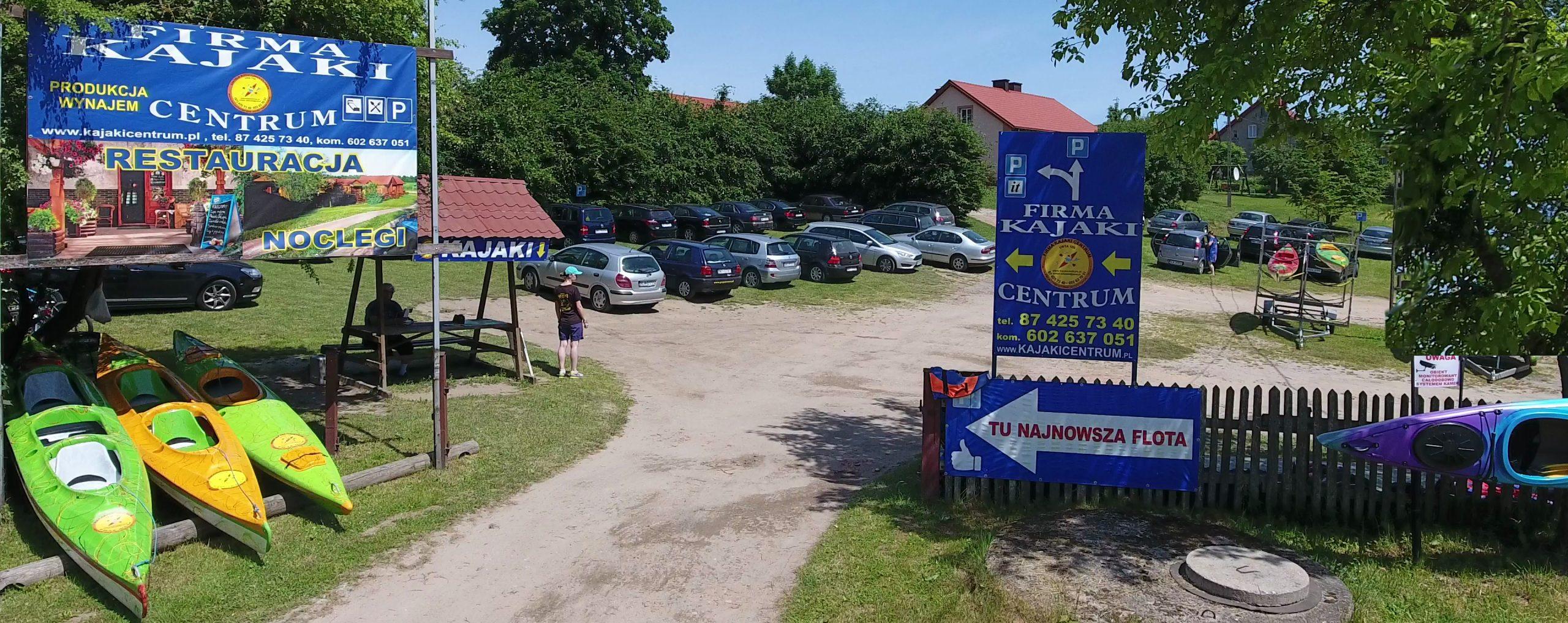 Wypożyczalnia kajaków, Przystań Ukta, Kajaki Centrum